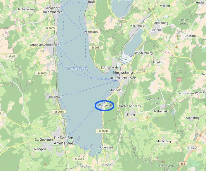 ammersee-karte
