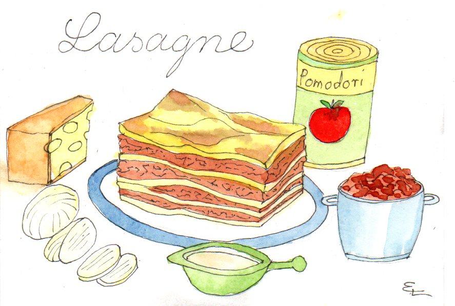 lasagne-farbe