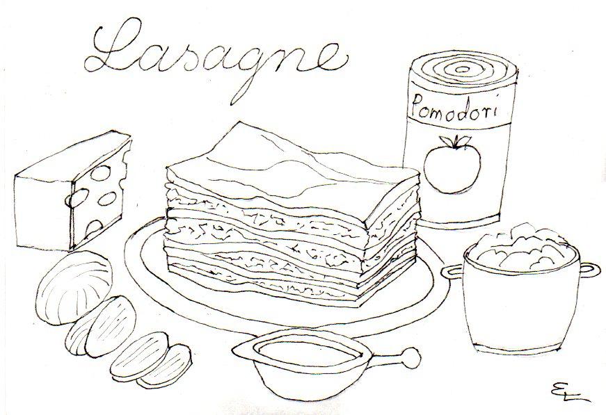 lasagne-tusche