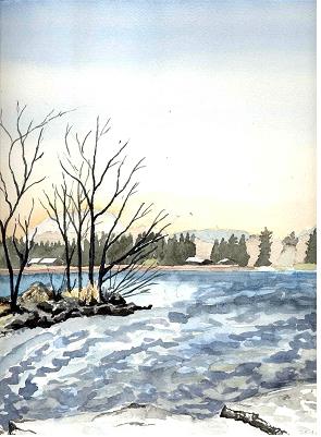 landspitze stheinrich im januar