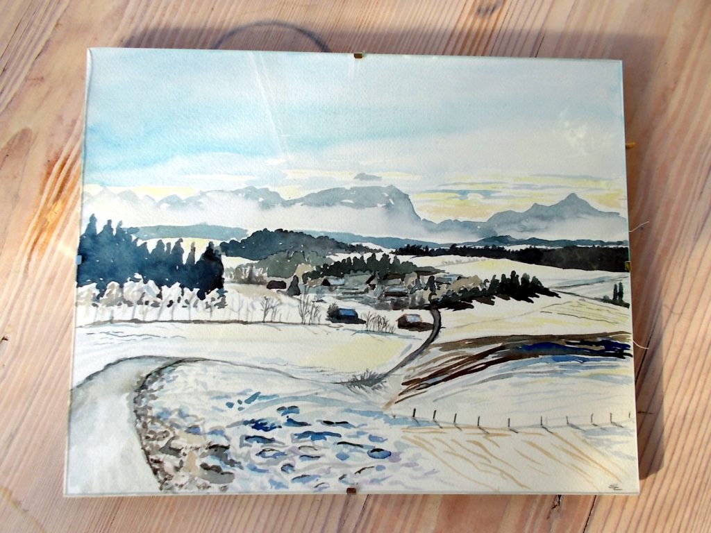 ludwigshoehe im schnee