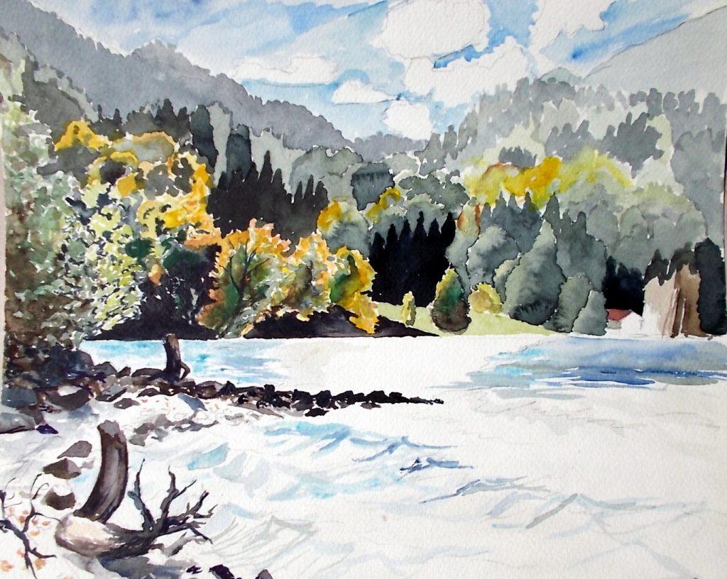 Walchensee, im September