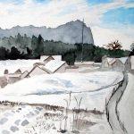 Zugspitze hinter Icking