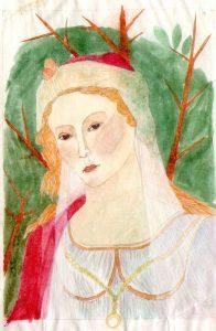 mittelalterliche-dame
