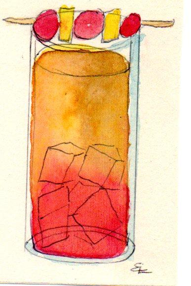 Handgemalte Illustration shirley-temple