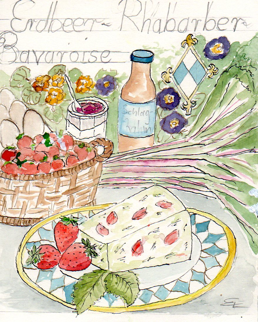 erdbeer-rhabarber-bavaroise