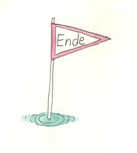 Ende-Fahne