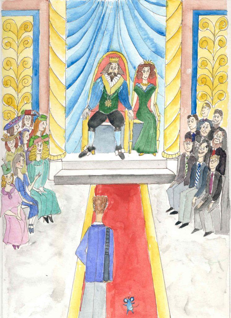 Audienz beim König und der Königin