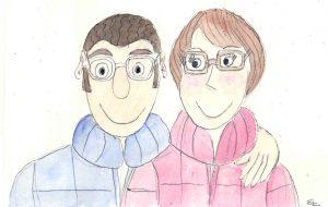 Onkel Helmut und Tante Renate