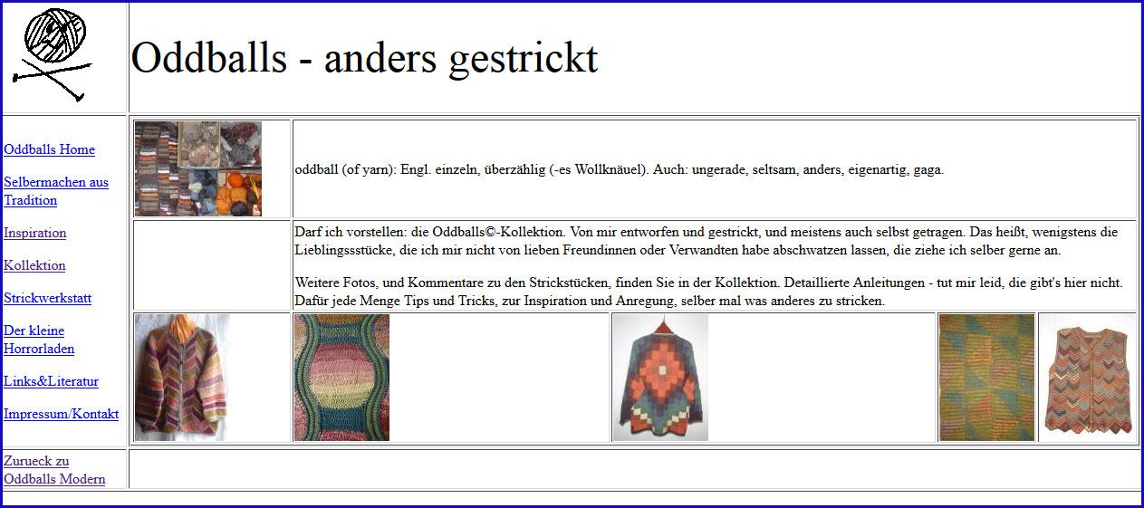 Alte Oddballs-Seite 2007