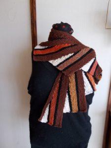 patchwork wingspan braun
