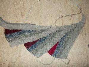 patchwork wingspan grau