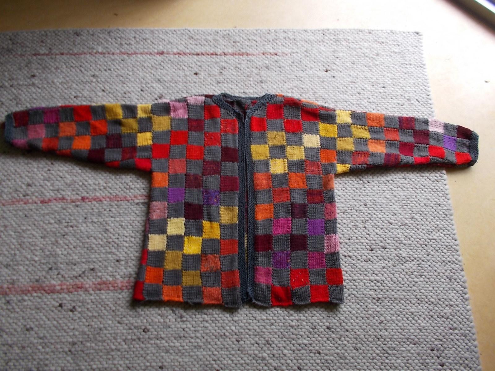 jacke patchwork ganz