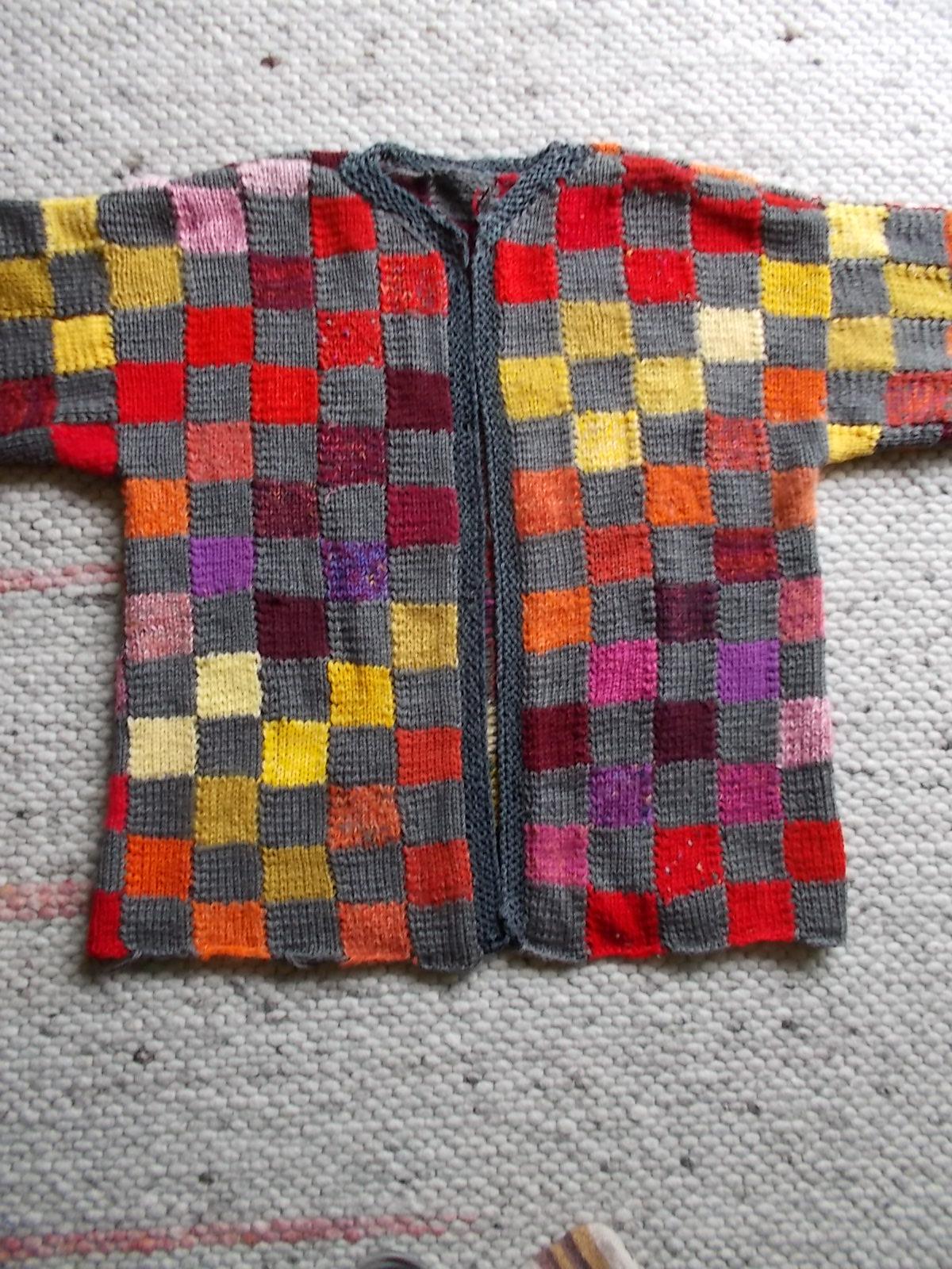 jacke patchwork