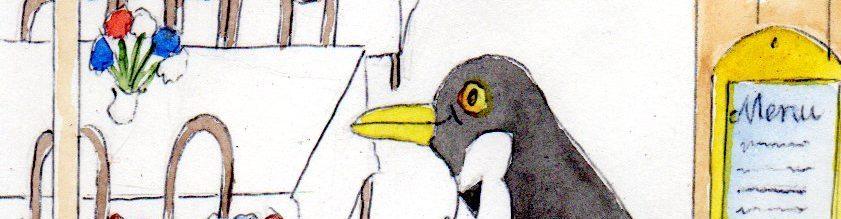 Zum schwarzen Pinguin