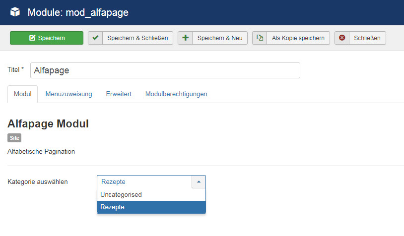 alfapage_modul