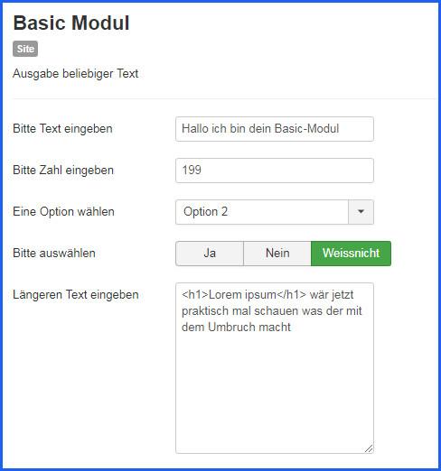 basicmodul